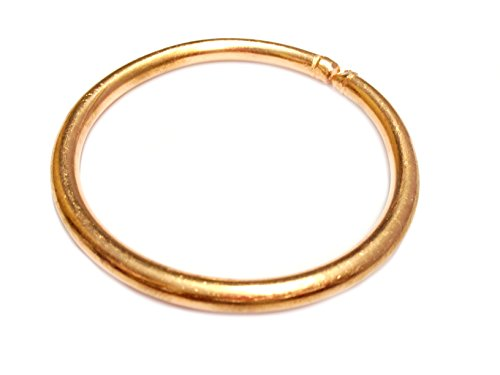 Pure Copper Kada for Men & Women (Size: Internal diameter Can be Adjustable)