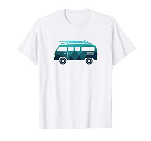 Bulli T1 Surf Retro Santa Cruz 50er Oldtimer T-Shirt -