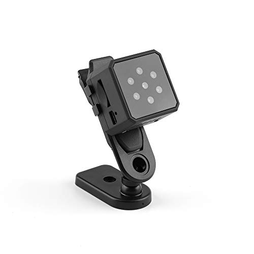 Mobiliarbus 1080P 145 ° Weitwinkel HD Kamera Mini Spy Versteckte Action-Kamera mit Nachtsicht Motion Detection für RC Racing Drohnen Quadcopter Office Riding Home Security