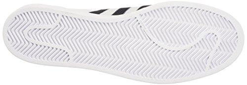 adidas Herren Superstar Sneakers, Blau, 38 EU Weiß (Ftwwht/Cblack/Ftwwht)