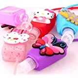 Cute Design Hand Sanitizer For Kids Birthday Return Gift (Pack Of 5) Assorted Design