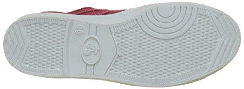Le Temps des Cerises Basic 02, Sneaker Donna Rosso (Rouge Rouge)