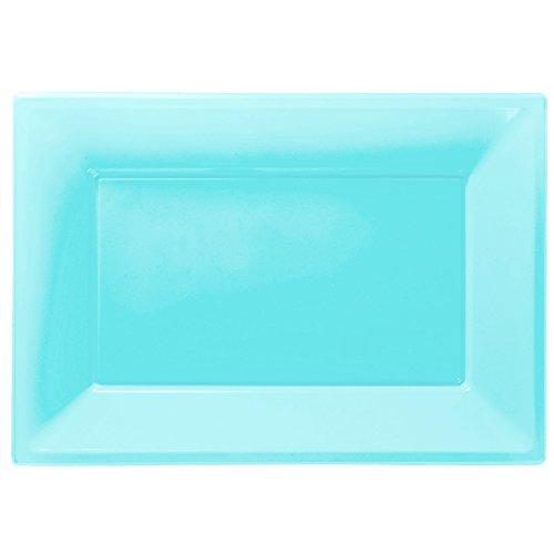 atten aus Plastik, Powder Blau (Servierplatten Halloween)