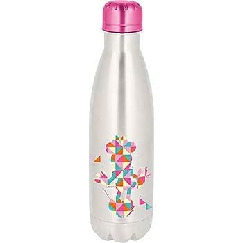 Multicolor Stainless Steel 500 ml Funko Disney Classic-Metal Water Bottle-Gold Mickey Head