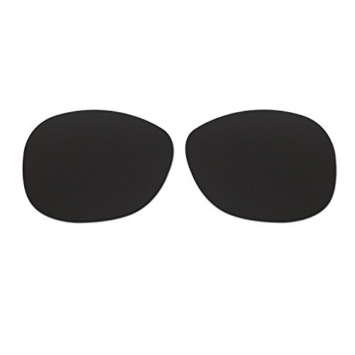 HKUCO Plus Mens Replacement Lenses For Ray-Ban Wayfarer RB2132 52mm Black Polarized