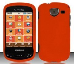 samsung-brightside-u380-verizon-orange-hard-case-snap-on-protector-cover-free-magic-soil-crystal-gif