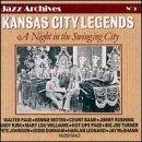 Kansas City Legends 1929-1942 by Various Artists