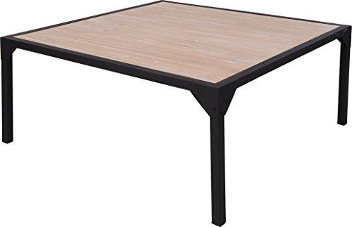 Cool Groer Couchtisch Metall Holz Industrial Look Xx Cm Tisch With  Couchtisch Industrial Look