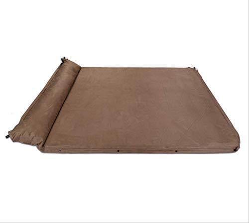 UDstrap Aufblasbares Zeltbett Doppel-gezäpftes Aufgehecktes Bett Outdoor Camping Wildleder-pickndarm