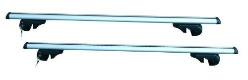 BRIO XL barre da tetto 135 cm per auto con railing aperti