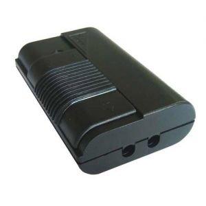 Variateur à pied nu 500w noir avec interrupteur glissant intégré