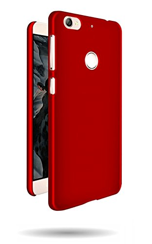 WOW Imagine Rubberised Matte Hard Case Back Cover For LeEco Letv Le 1S - Maroon Wine Red