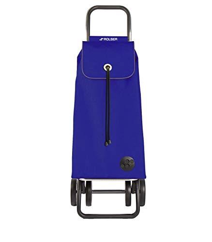 Rolser Carro DE Compra, Metal, Azul, 39x31x105 cm, 2