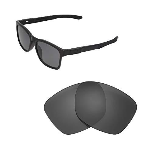 Walleva Ersatzgläser für Oakley Catalyst Sonnenbrillen - Verschiedene Optionen erhältlich, Unisex-Erwachsene, Black - Polarized, Einheitsgröße