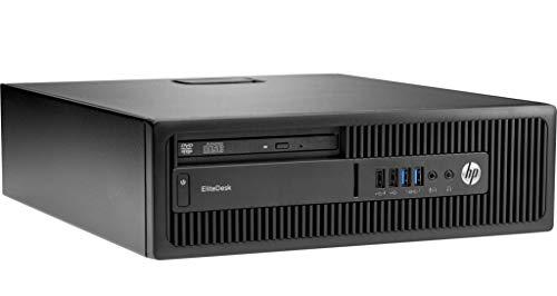 HP EliteDesk 800 G1 Desktop PC (SFF) | Intel Core i5-4590, 8GB RAM, 240 GB SSD, Win 10 Pro (Generalüberholt) (Hp Pro Desktop)