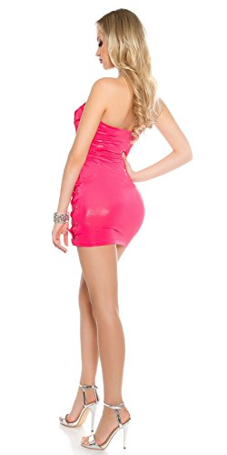 In-Stylefashion - Robe - Femme rose rose bonbon taille unique rose bonbon