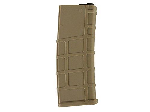 Lonex M4 / M16 Airsoft MidCap Magazin (200 BBs) - TAN