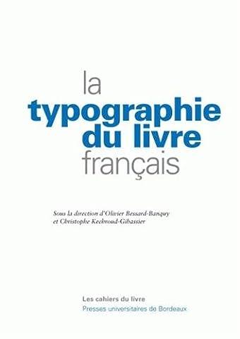La typographie du livre français