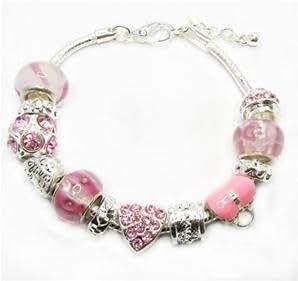 Daniadream - Bracelet Style Pandora Spécial Saint Valentin