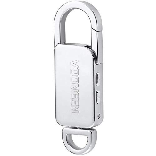 Cimice Spia con Attivazione Vocale 8GB // 570 ore Capacit/à Mini Registratore Vocale con File Protetti da Password Autonomia 24 ore