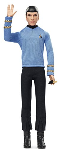 Barbie - Fashion Doll, Star Trek 50 Anniversary Mr. Spock (Mattel DGW68)