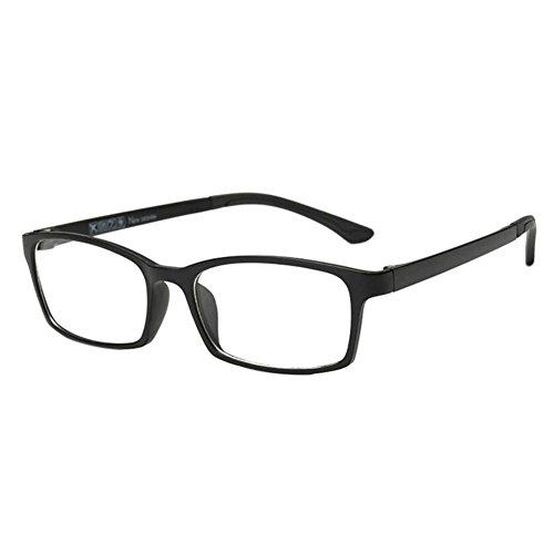 Meijunter Meijunter Ultraleicht TR90 Kurzsichtigkeit Myopia Eyewear Kurzsicht Brille Kurzsichtig Brille Eyewear -1.0~-6.0 Matt-schwarz