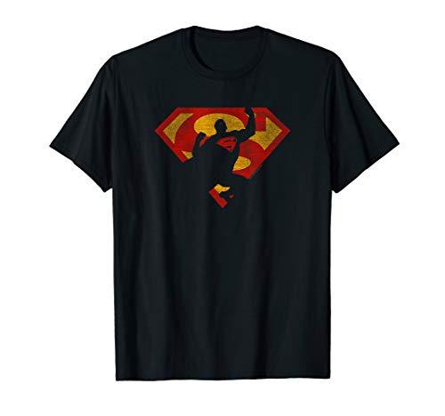 Superman S Shield Knockout T Shirt -