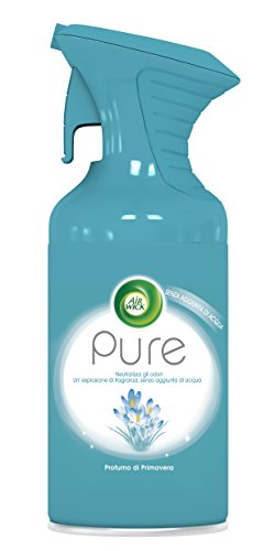 Air Wick Pure Spray, Profumo di Primavera, 250 ml