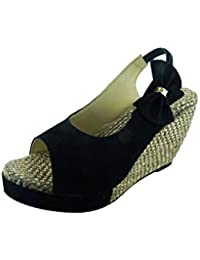 Remson India WOMEN SYNTHETIC SUED WEDGE SANDAL