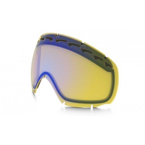 Oakley Crowbar lente di ricambio per maschera da sci/snowboard, H.I. Yellow 02-120, Taglia unica
