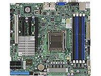 Super Micro D-H8SCM-F-O Server Mainboard (micro-ATX, AMD Opteron 4000, DDR3, 6x SATA, 7x USB 2.0)