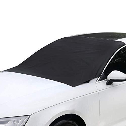 PRENKIN Magnetische Auto-Abdeckungen Windschutzscheibe Abdeckung Hitze Sonnenschutz Anti Schnee, Frost, EIS-Schild-Staub-Schutz Winter-Car-Cover