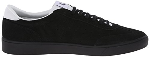 Fred Perry Umpire Suede Cloudburst Grey Black