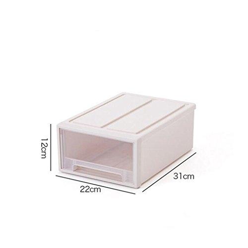 Sucastle,Wirklich nützliche Aufbewahrungsboxen sind leicht und robust und stapelbar,Plastik,22*12*31CM