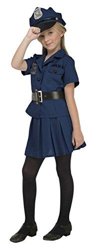 My Other Me - Disfraz de policía para niña, 10-12 años (Viving Costumes 204232)