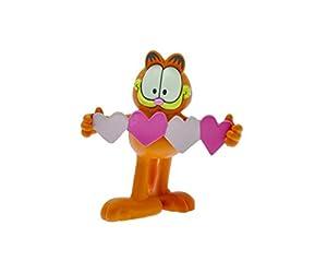 Plastoy 66005 - Figura de Garfield con corazones