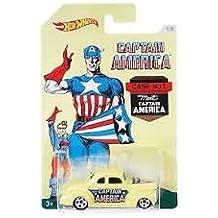 Hot Wheels vehículo Capitán América Ford Coupe