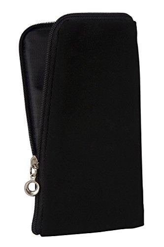 Chiusura lampo Custodia morbida per Apple iphone 6s, Zipper tasca de cellulare borsa di Stoffa