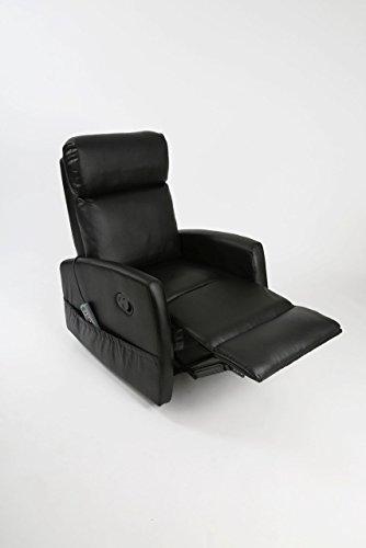 Sillón relax de masaje Levanta Personas Compact. Función calor. 5 programas. 3 intensidades. 8 motores. Doble mando. Ruedas. Polipiel de alta calidad. Bolsillo portaobjetos. Varios colores.