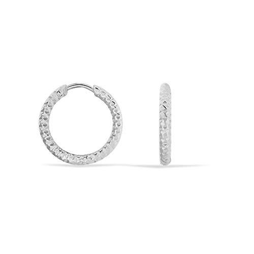 Stroili - Orecchini a cerchio in acciaio per Donna - Lady Code