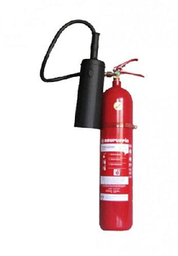 Preisvergleich Produktbild 5kg CO² Kohlendioxid-Feuerlöscher KS5BG - Markenqualität von Neuruppin EDV geeignet DIN EN 3 inkl. ANDRIS® Prüfnachweis mit Jahresmarke