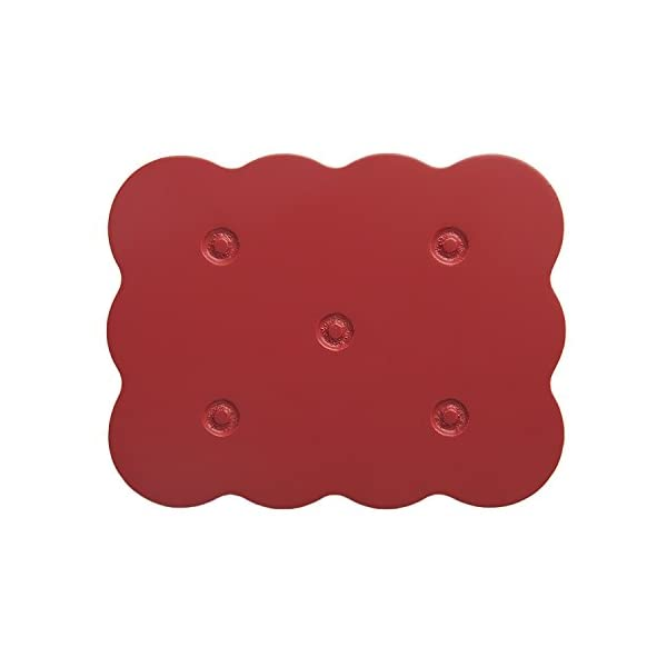 Lorena Canals Knob Galleta (Red, Pack of 6) Lorena Canals Hanger Pack Eco-friendly 1
