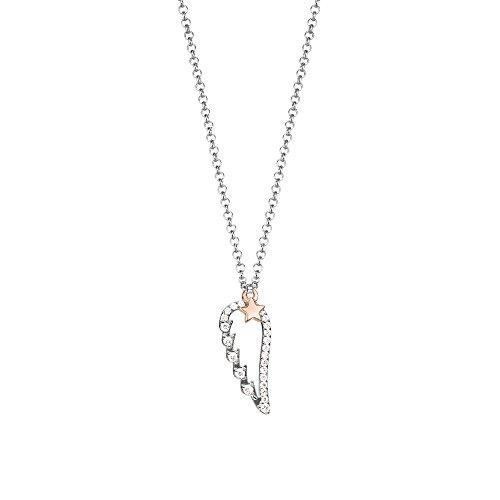 Esprit jw50148 Halskette Silber mit Zirkonia 42 cm ESNL93171A420