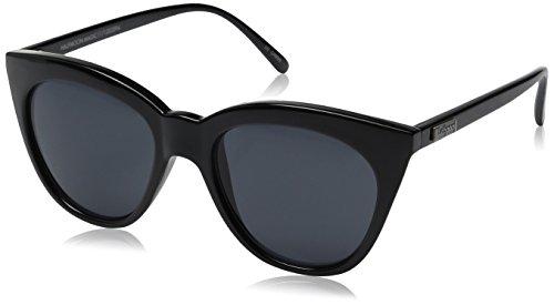 Le Specs Halbmond magische Sonnenbrillen One Size Schwarz