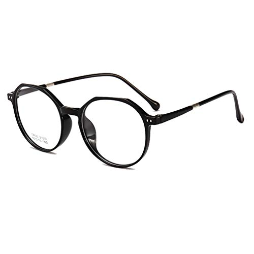 Embryform Klassische Nerdbrille irregular rund Keyhole 40er 50er Jahre Pantobrille Vintage Look clear lens