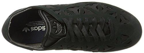 adidas Gazelle Cutout, Baskets Basses Femme Noir (Core Black/Core Black/Off White)