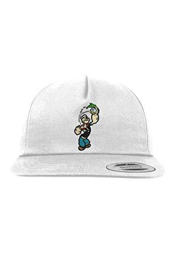 l Kinder Junior Cap Modell Popeye Spinat, Weiß, B10b ()