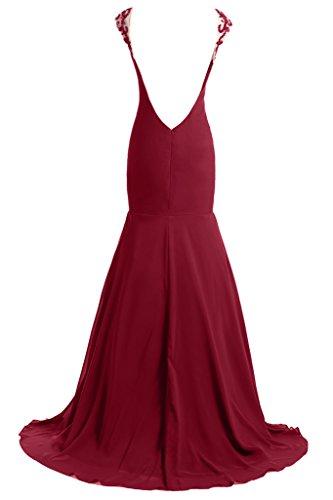 Ivydressing - Robe - Femme Rouge - Rouge bordeaux