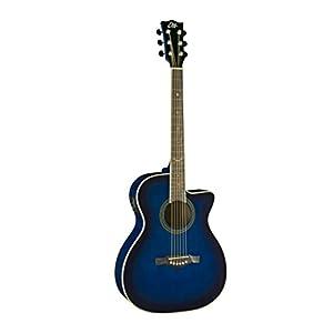 Chitarra acustica amplificata blue sunburst Eko NXT 018 cw eq.