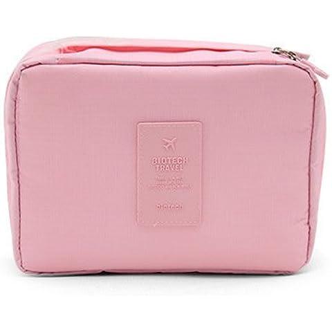 Missofsweet viajes Wash Bolsa cosméticos Bolsa impermeable al aire libre paquetes de viajes clasificación paquetes